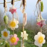 Ghirlande di fiori galleggianti